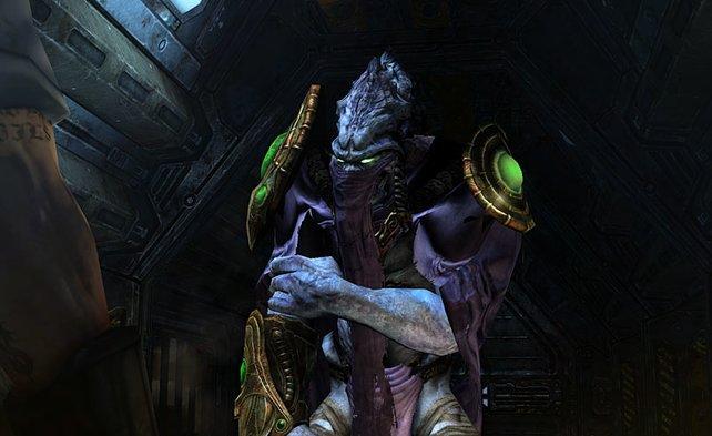 Protoss Zeratul, Prälat der Dunklen Templer, ist auch wieder mit dabei.