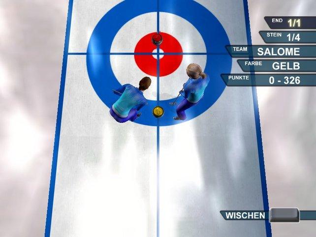 Curling ist die einzige neue Sportart im Spiel