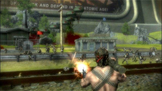 Rambo lässt grüßen: Die Plastikmänner schießen scharf!