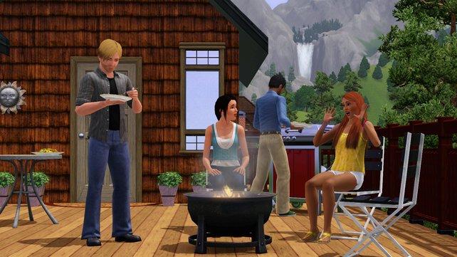 Ihr könnt stets Objekte herunterladen, die eure Simswelt noch abwechslungsreicher gestalten.