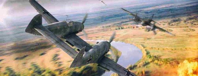 Bei World of Warplanes sind aktuell deutsche Messerschmitt-Flugzeuge im Angebot.