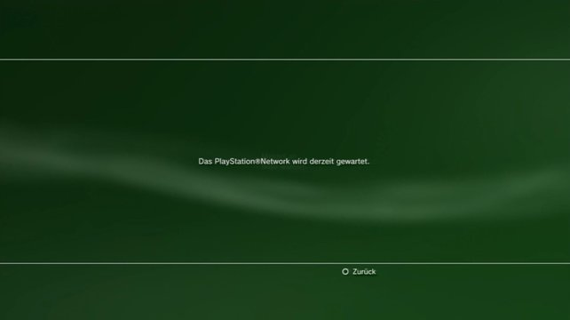Wird bei Sony lange Zeit Alpträume auslösen: Der notdürftig verrammelte PSN-Eingang.