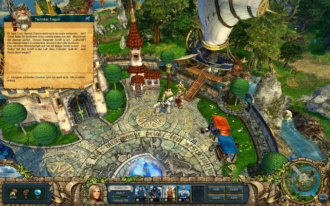 Überall in der Spielwelt warten Quests auf den Helden.