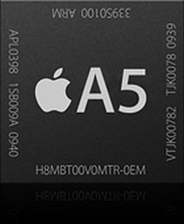 Apple setzt auf einen modernen, schnellen und stromsparenden Zweikern-Prozessor.