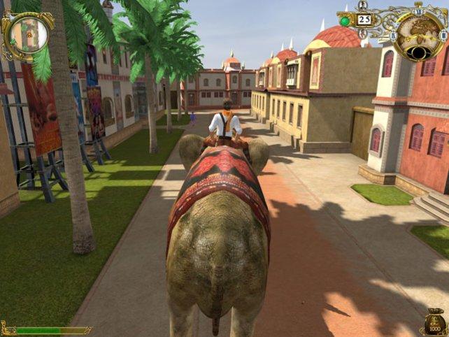 Mit dem Elefanten gehts schneller
