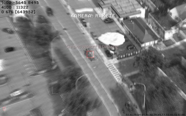 Mit der Predator-Drohne könnt ihr Fahrzeuge und Gegnermassen ausschalten, seid aber bei der Bedienung verwundbar.