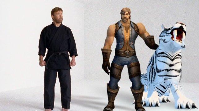 Auch das noch: In der neuen Werbung zu World of Warcraft gibt sich Chuck Norris die Ehre.