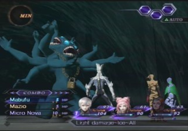 Digital Devil Saga besticht mit komplexen Kämpfen.
