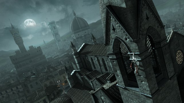 Atemberaubend: Das virtuelle Florenz wurde hervorragend in Szene gesetzt. Atmosphäre pur.