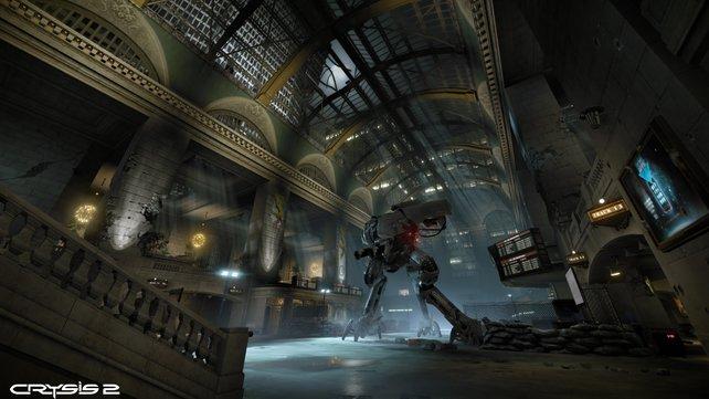 Bekannte Sehenswürdigkeiten wie New Yorks Grand Central Station sind verwüstet.