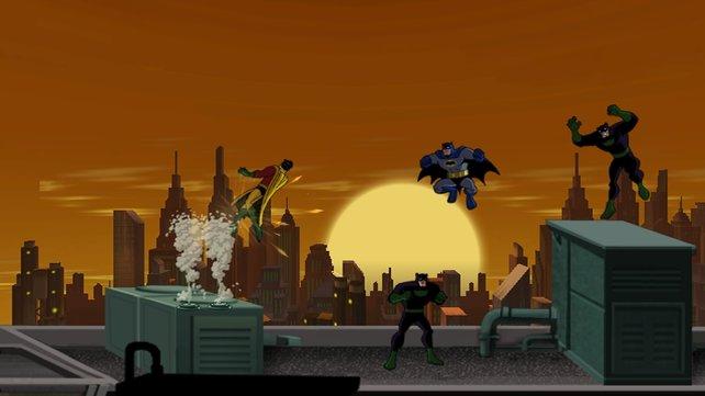 Batman und Robin, das Powerduo.