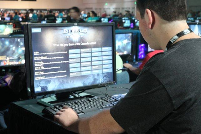"""Besucher geben nach dem Test der """"Diablo 3""""-Erweiterung ihre Meinung zu den Kreuzritter-Fähigkeiten ab."""