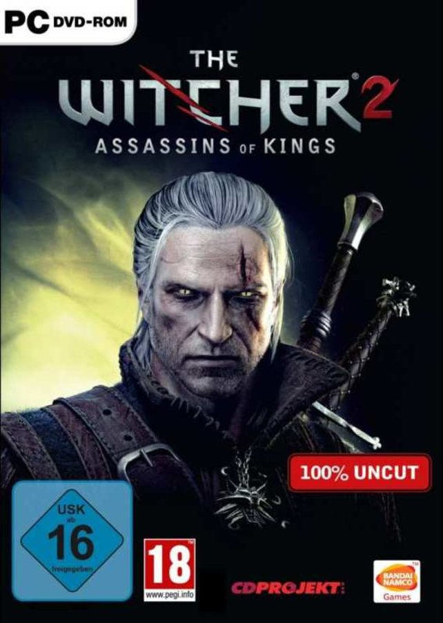 Das Cover von The Witcher 2.