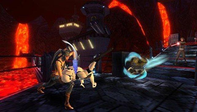 Es gibt viele Star-Wars-Spiele. Hier im Bild Lethal Alliance, das für PSP und Nintendo DS erschienen ist.