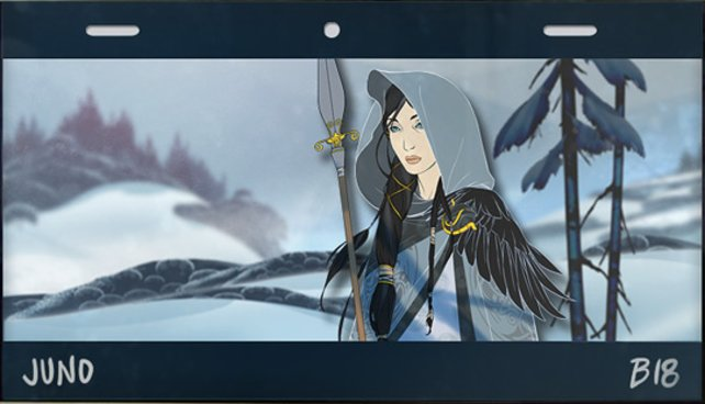 The Banner Saga lockt mit herrlichem Artwork.