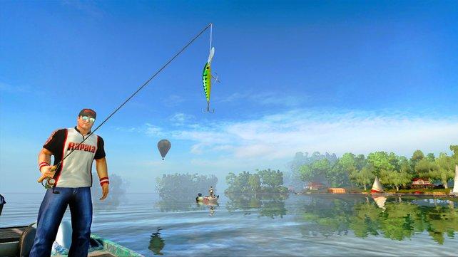 Ob dieser Köder den Erfolg erzielt, den unser Angler anstrebt?