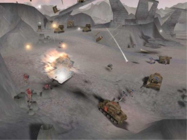Höher gelegene Truppen sind im Vorteil