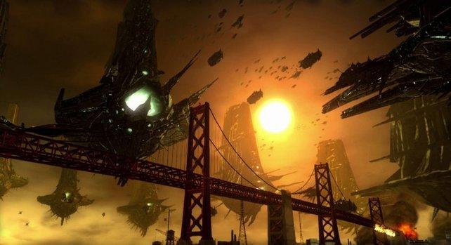 Ein absolutes Highlight: der Blick über die Golden Gate-Brücke.
