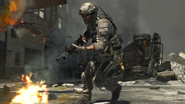 Effektvoll inszeniert: das erste Call of Duty von Infinity Ward nach der Entlassungs-Affäre.
