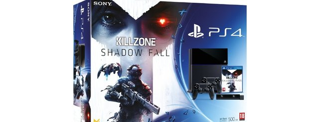PlayStation 4: Bundle mit Killzone und Kamera