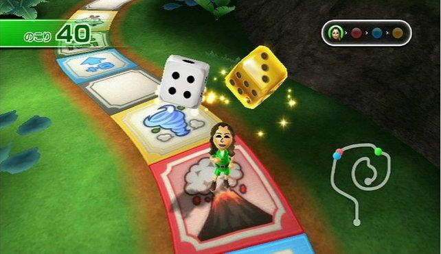 """Im Minispiel """"Insel der Abenteuer"""" spielt ihr unter anderem um zusätzliche Bonuswürfel."""