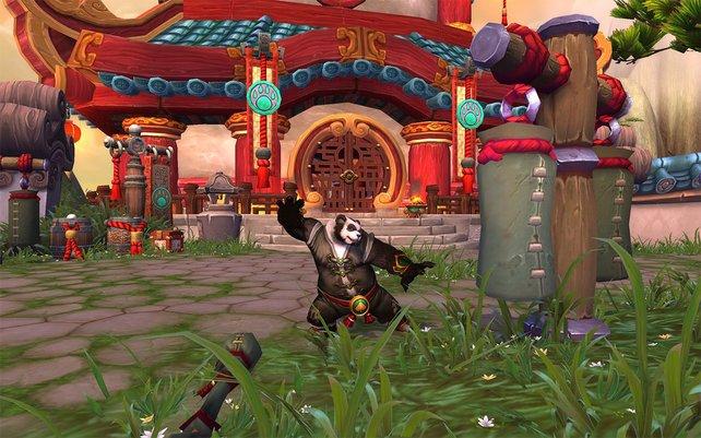 Der Mönch kämpft mit den bloßen Händen und nutzt seine Waffen nur in der Not.