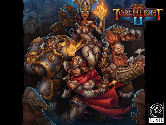 Wie in Diablo 3 stehen euch vier Helden zur Auswahl.