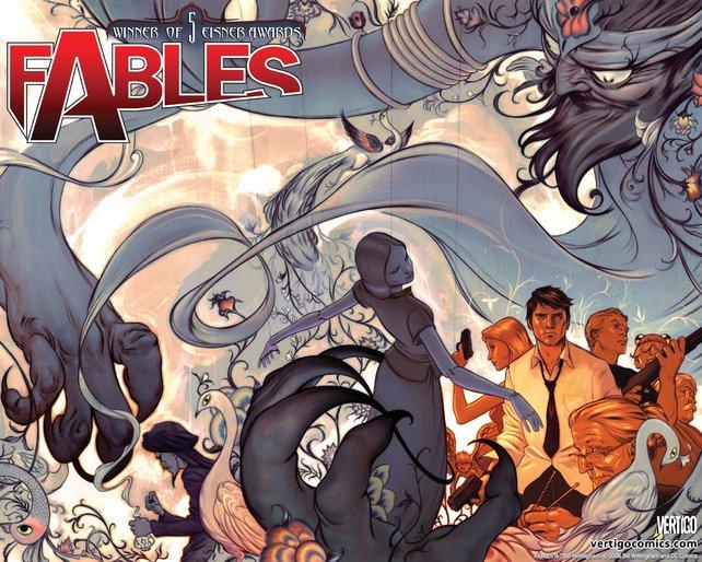 Fables ist eine der erfolgreichsten Serien bei erwachsenen Lesern.