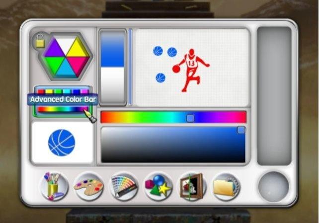 In diesem Bildschirm wählt ihr eure Werkzeuge und Hilfsmittel.