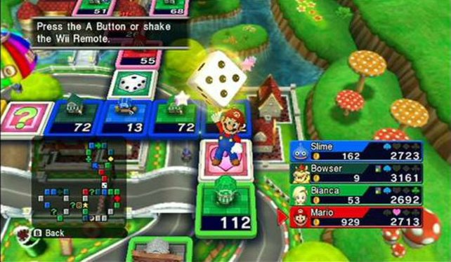 Mario ist am Zug: Fortune Street erinnert oft an den Klassiker Monopoly.