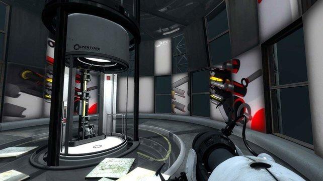 Ihr müsst die Ausgänge aus sadistisch erdachten Testkammern suchen.