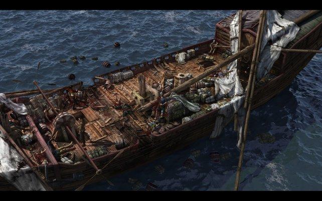Was ist bloß auf diesem Schiff passiert?