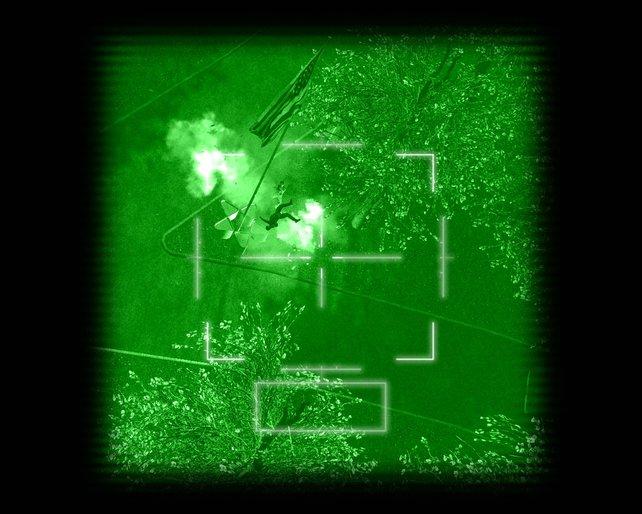 Grünes Licht für geübte Schützen.
