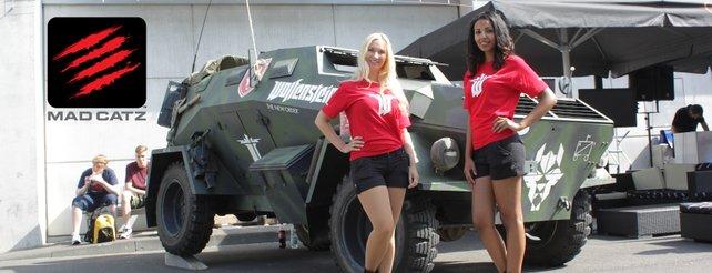 Gewinnspiel: Macht ein Foto vom Wolfenstein-Auto auf der Gamescom