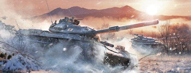 Mit Version 8.11 gelangen japanische Panzer ins Spiel.