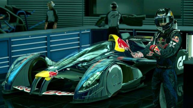 In Kooperation mit Red Bull enstand der X2010 für Gran Turismo 5.