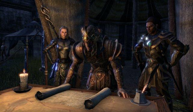In The Elder Scrolls Online kämpft ihr um den Rubinthron von Tamriel.