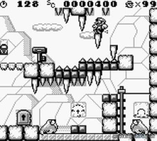 Ohne den Schlüssel erreicht Mario nicht den Levelausgang.