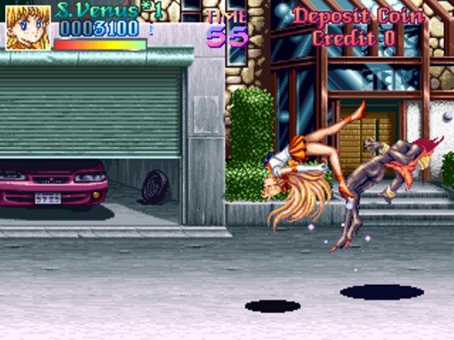 Die meisten Attacken der Sailor-Kriegerinnen sind physischer Natur, aber hin und wieder hilft halt nur Magie.