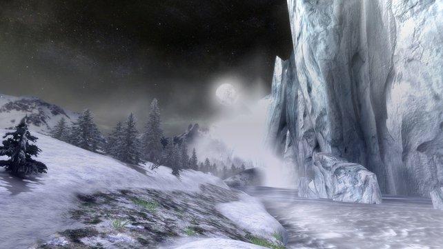 Neue Gebiete und Monster stellt euch das Spiel in Zwischensequenzen vor.