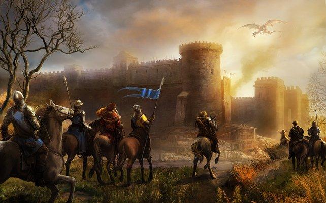 Seine Kulissen findet Herokon Online in einer mittelalterlichen Spielwelt.