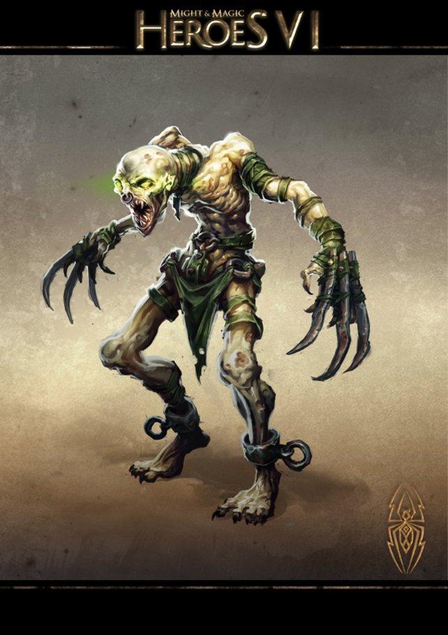 Der Ghul ersetzt die aus Teil 5 bekannten Zombies.