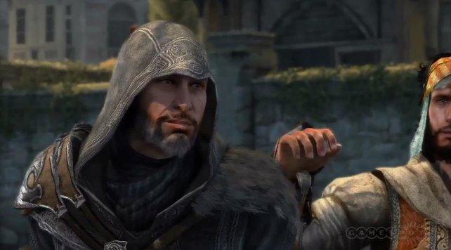 In Revelations ist Ezio 52 Jahre alt.