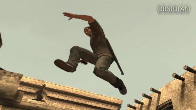 Jagd über die Dächer von Rom.