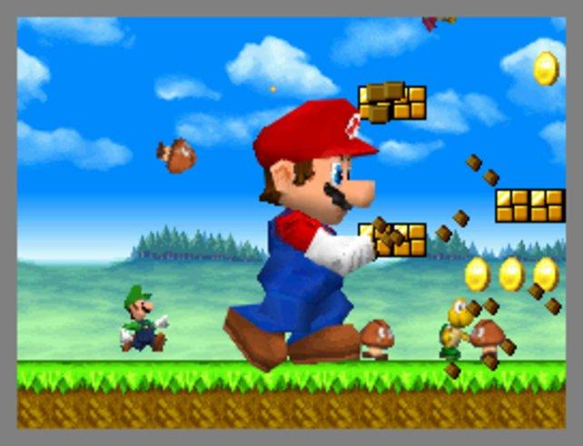 Das retromoderne New Super Mario Bros. kehrt zu den Serienwurzeln zurück.