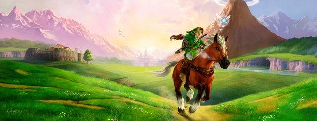 Wahr oder falsch? #63: Schatten-Epona in Zelda - Ocarina of Time