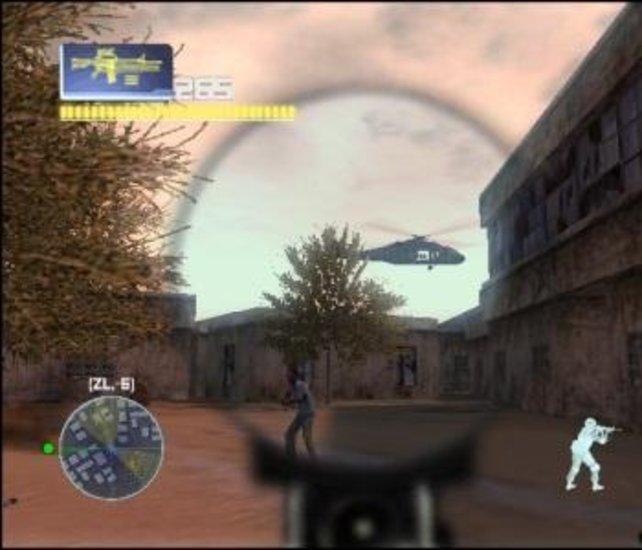 In einigen Missionen gibt euch ein Black Hawk Unterstützung.