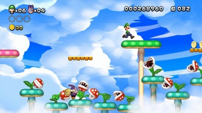 Die Luigi-Levels sind viel knackiger als die von Bruder Mario.