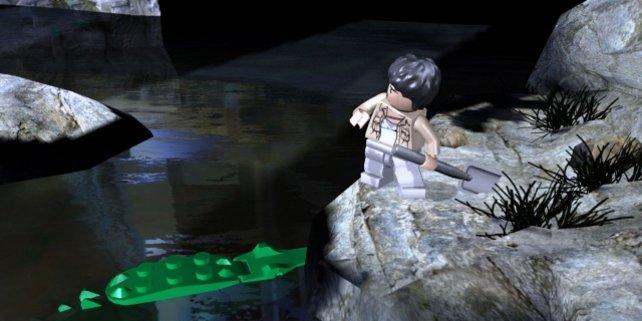 """Schaufel statt Lichtschwert: In """"Lego Indiana Jones"""" werden Schätze gehoben!"""