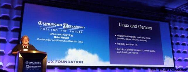 Valve: Linux ist die Zukunft für PC-Spiele - kommt die Steambox?
